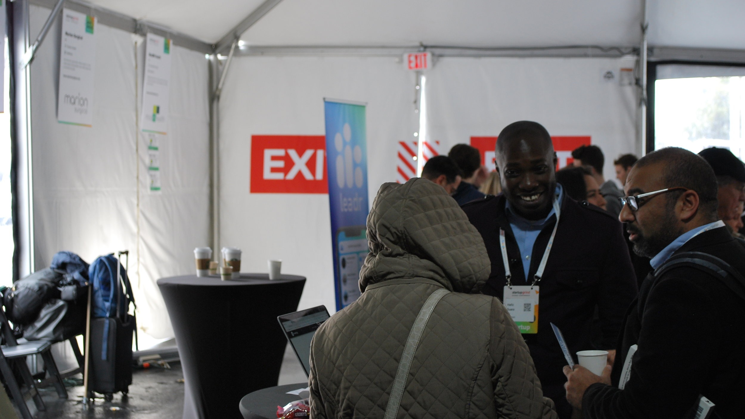 Hafiz Suara, Co-founder at healthgig exhibiting at Startup Grind Global