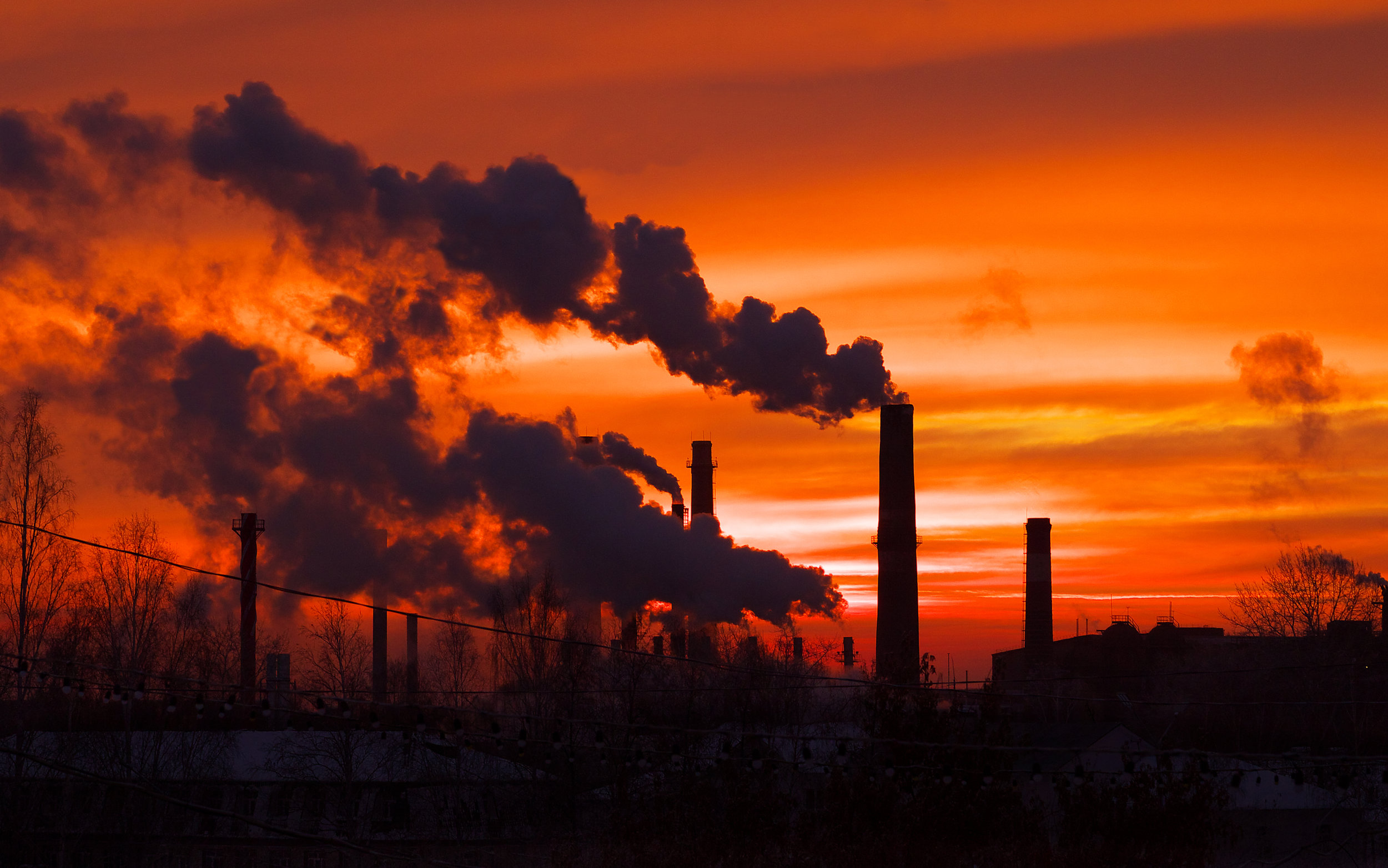 Carbon Dioxide - Since the Industrial Revolution, human activity has produced a 40% increase in the atmospheric concentration of carbon dioxide. Carbon dioxide emissions come from combustion of fossil fuels, principally coal, oil, and natural gas, along with deforestation, soil erosion, and animal agriculture.