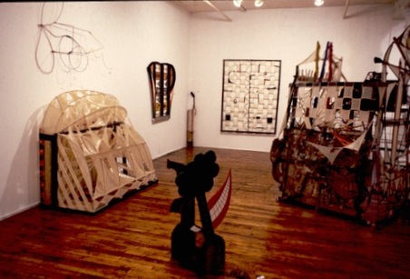 Installation at Phyllis Kind Gallery, 1980