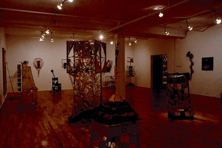 Installation at Phyllis Kind Gallery, 1981