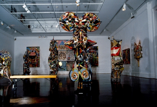 Installation at the Portsmouth Museums, 1988