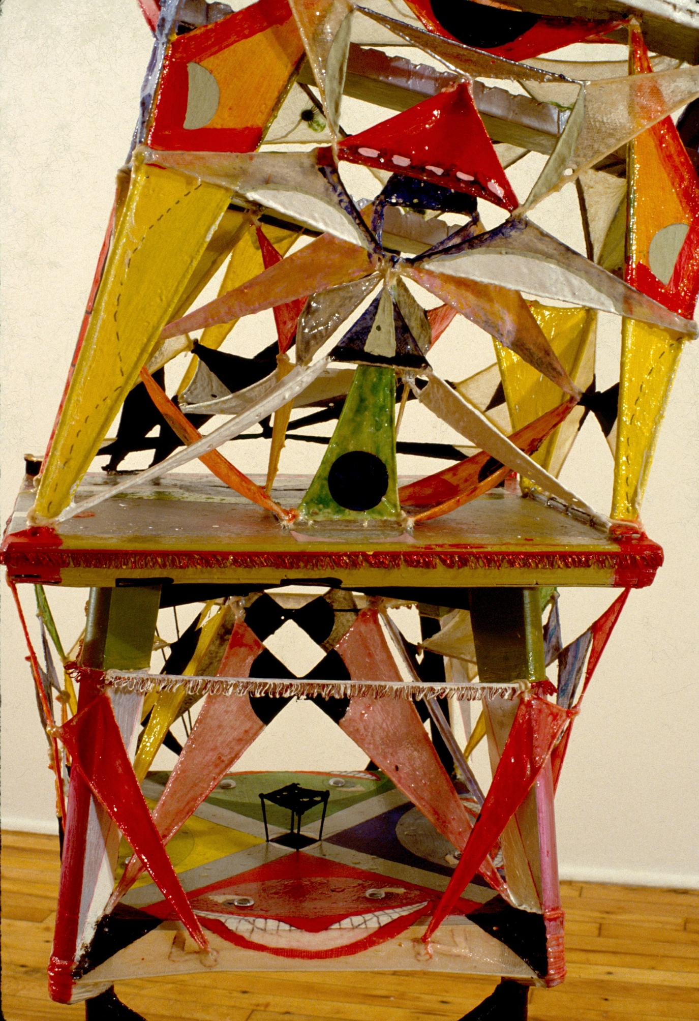Game Show Hostage (detail),1981, 76 x 22 x 24 in.