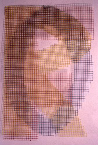 FOR (chicken wire), c. 1980