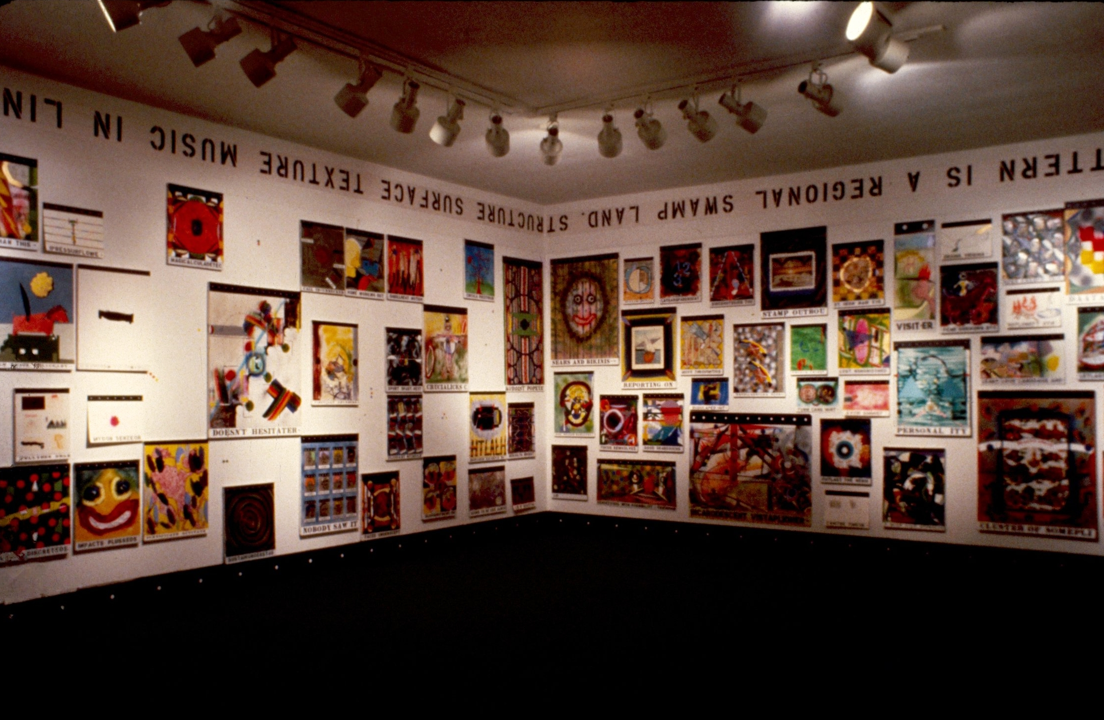Found and Altered Paintings, 1985