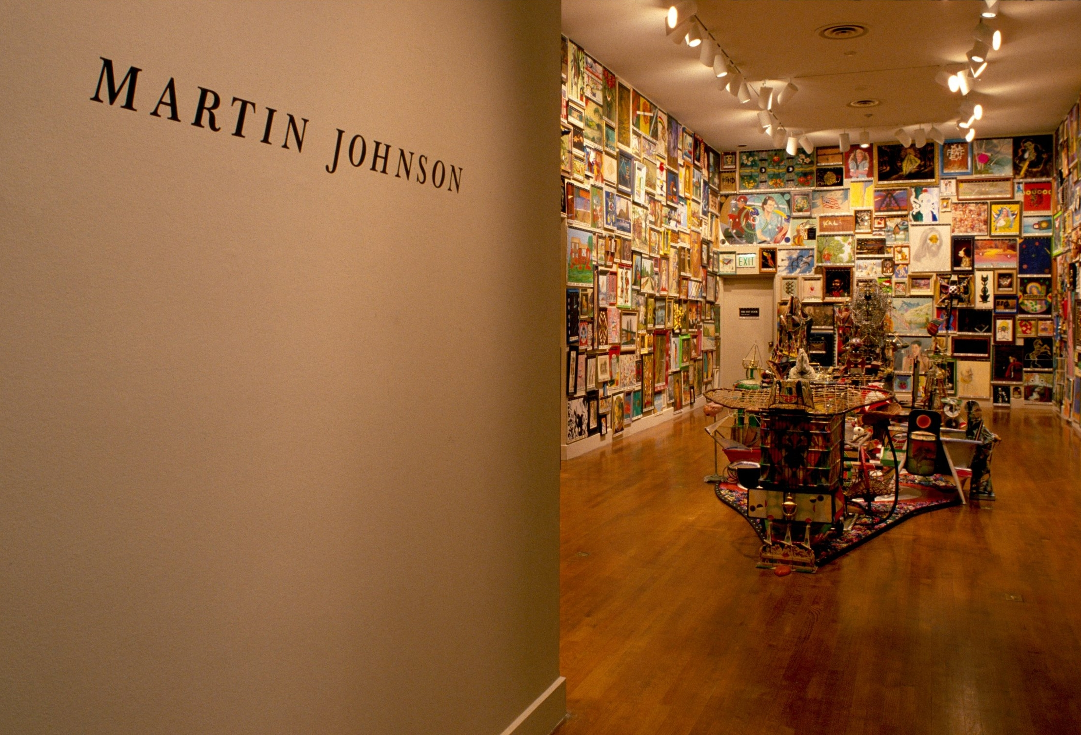 Martin Johnson in  Un/Common Ground: Virginia Artists,  Virginia Museum of Fine Arts, 1990