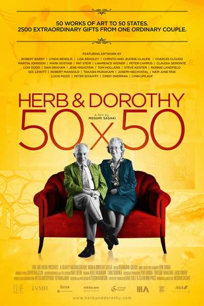 Herb and Dorothy: 50x50 - This acclaimed 2008 documentary captures the intriguing story of the Vogels. An ordinary New York couple             Normal   0               false   false   false      EN-US   JA   X-NONE                                                                                                                                                                                                                                                                                                                                                                                                                                                                                                                                    /* Style Definitions */ table.MsoNormalTable 	{mso-style-name: