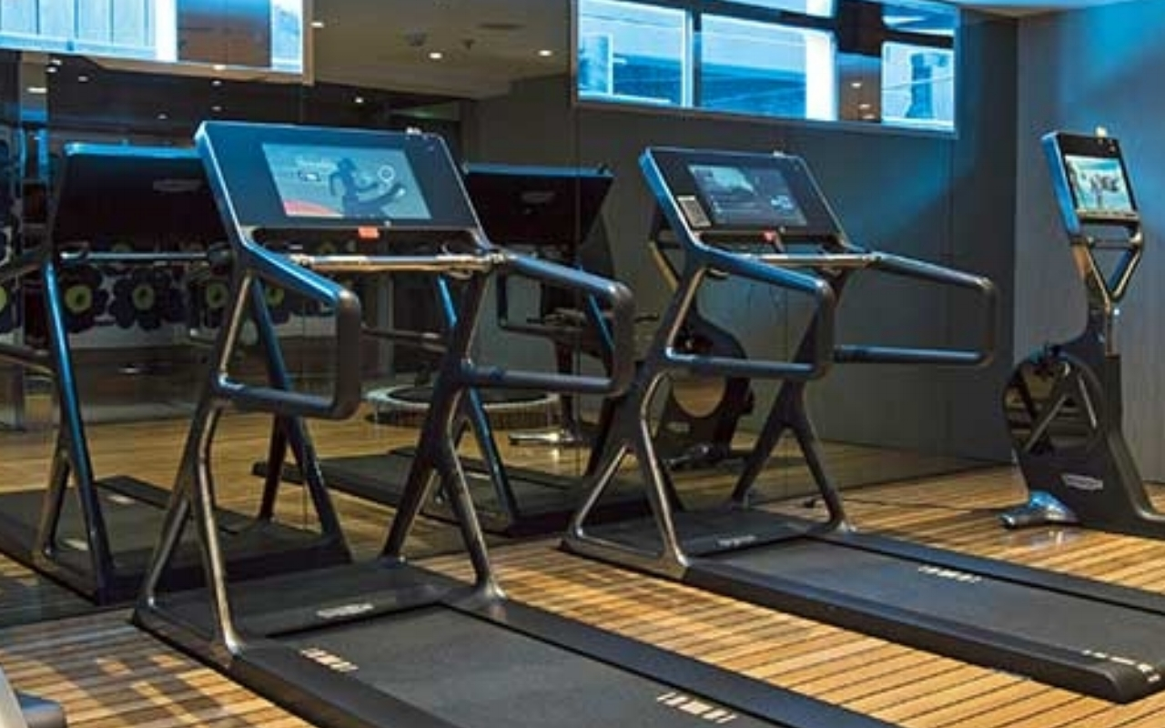 Fitness centre  Energized guests can take advantage of the cardio and wight equipment in the fully appointed fitness centre.