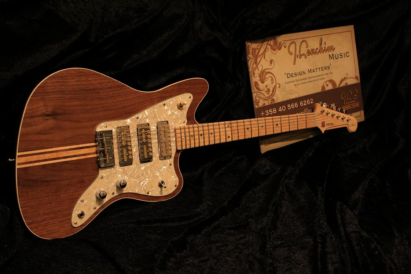 J. Leachim Guitars - Riihimäki