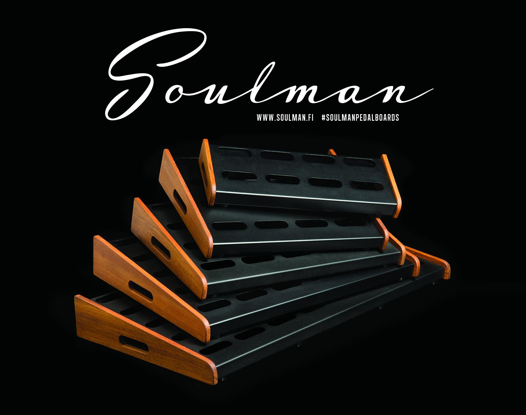 Soulman Pedalboards - Pietarsaari