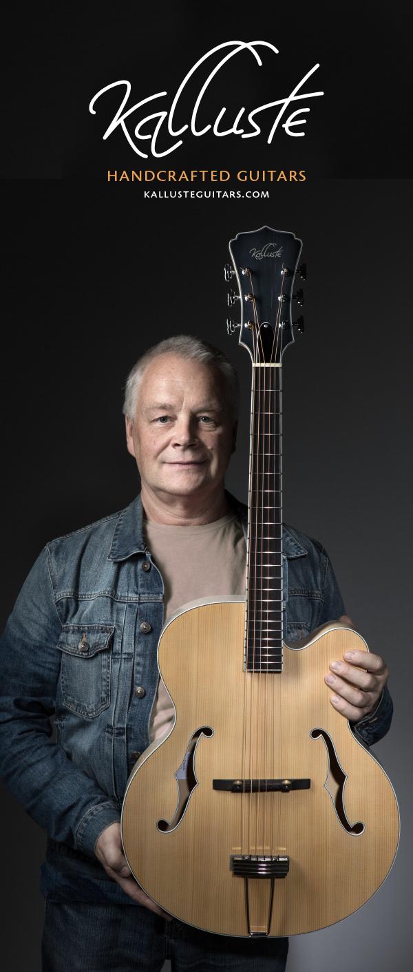 Kalluste Guitars - Estonia