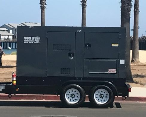 900 AMPS/125 KVA/100 KW Whisper Watt Generator