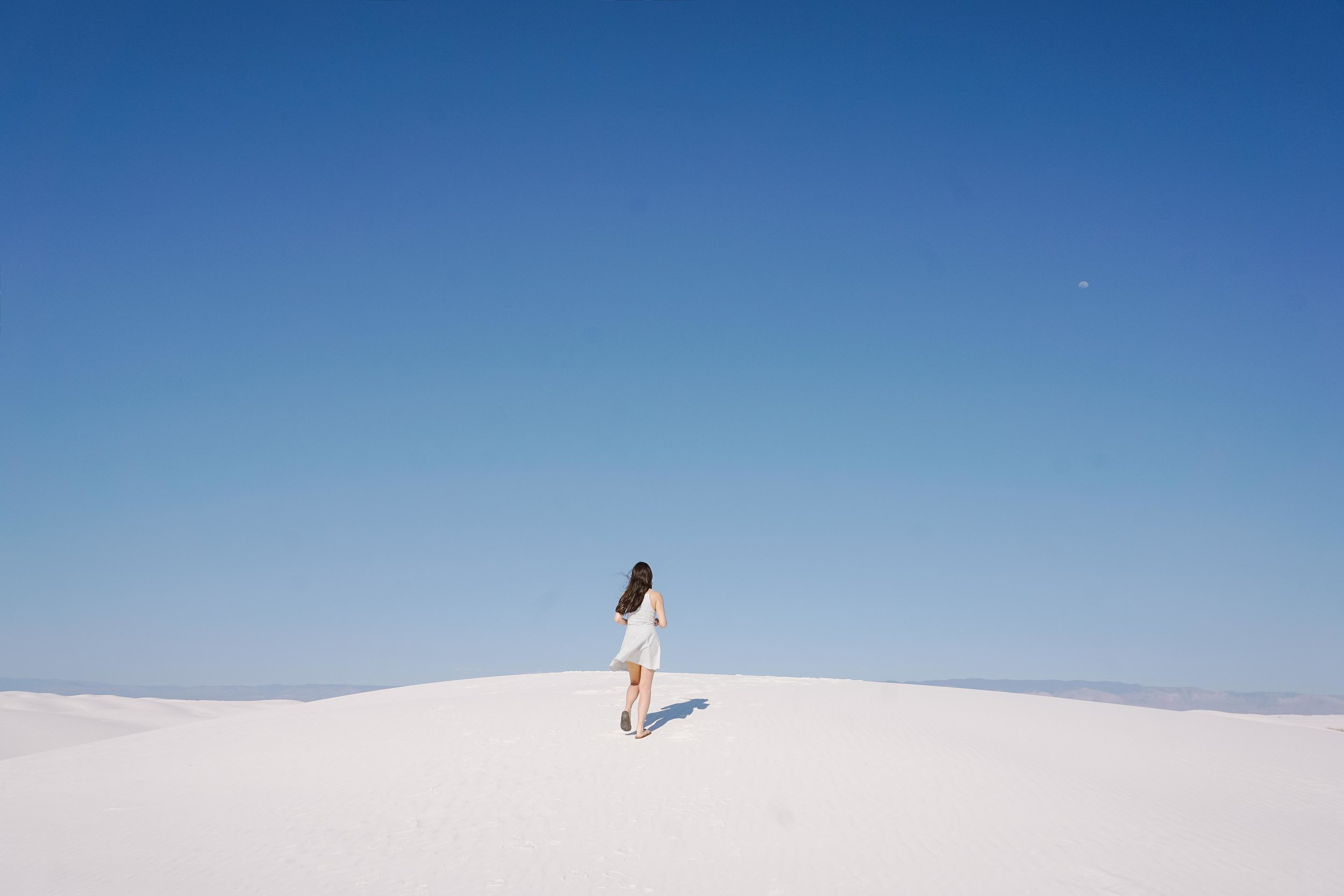 White Sands,New Mexico - by blogger and photographer, Rachel Park