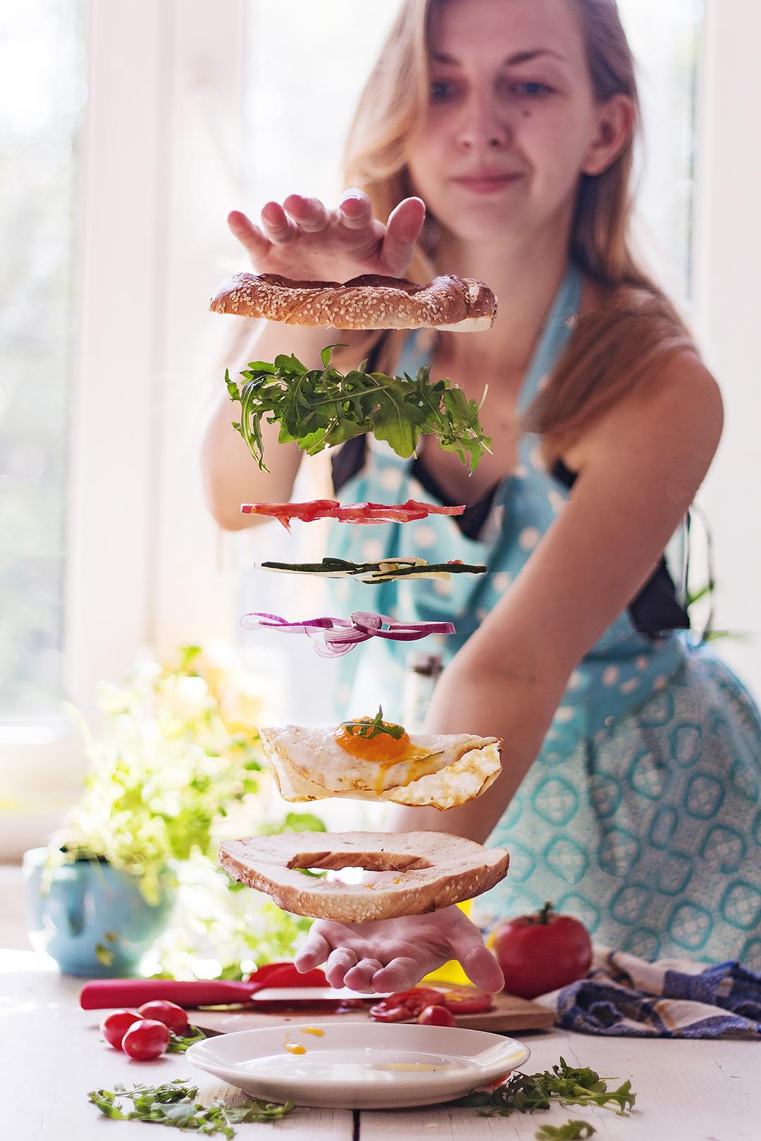 How to Create Floating Food - with KodakIt Photographer Olena Matkowska
