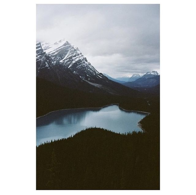 Peyto Lake looks like a #postcard in this #picturesque #analog shot. #Shotonfilm by #35mm enthusiast @foxsanalogue 📸 For more snaps from around the 🌎 check out @foxsbackpack 🎒 . . #film #filmphotography #filmisnotdead #35mm #analog #movie #ishootfilm #cinema #filmcamera #banff #filmcommunity #peytolake #canada #analogphotography #staybrokeshootfilm #filmfeed #movies #buyfilmnotmegapixels #thefilmcommunity #shootfilm #35mmfilm #filmmaking #kodakit #snapitkodakit #shootsmadesimple