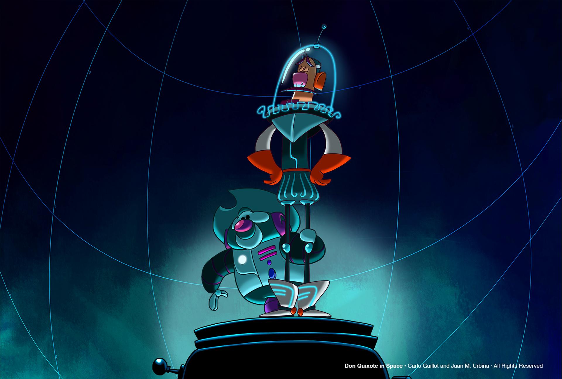 DON QUIXOTE IN SPACE -