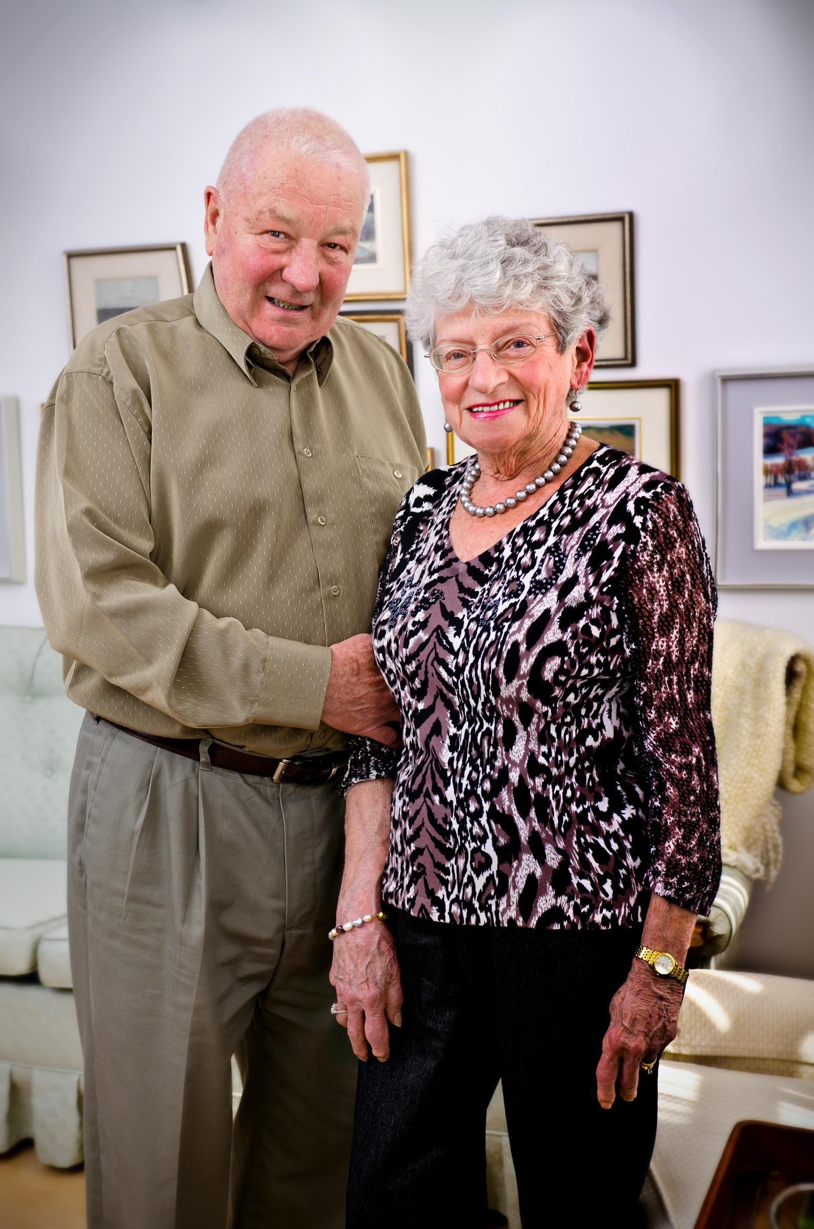 John Bliss-Dorothy McDade photo 2012.jpg