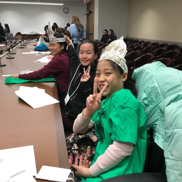 GGAL participants at Girls Rock the Capitol 2019