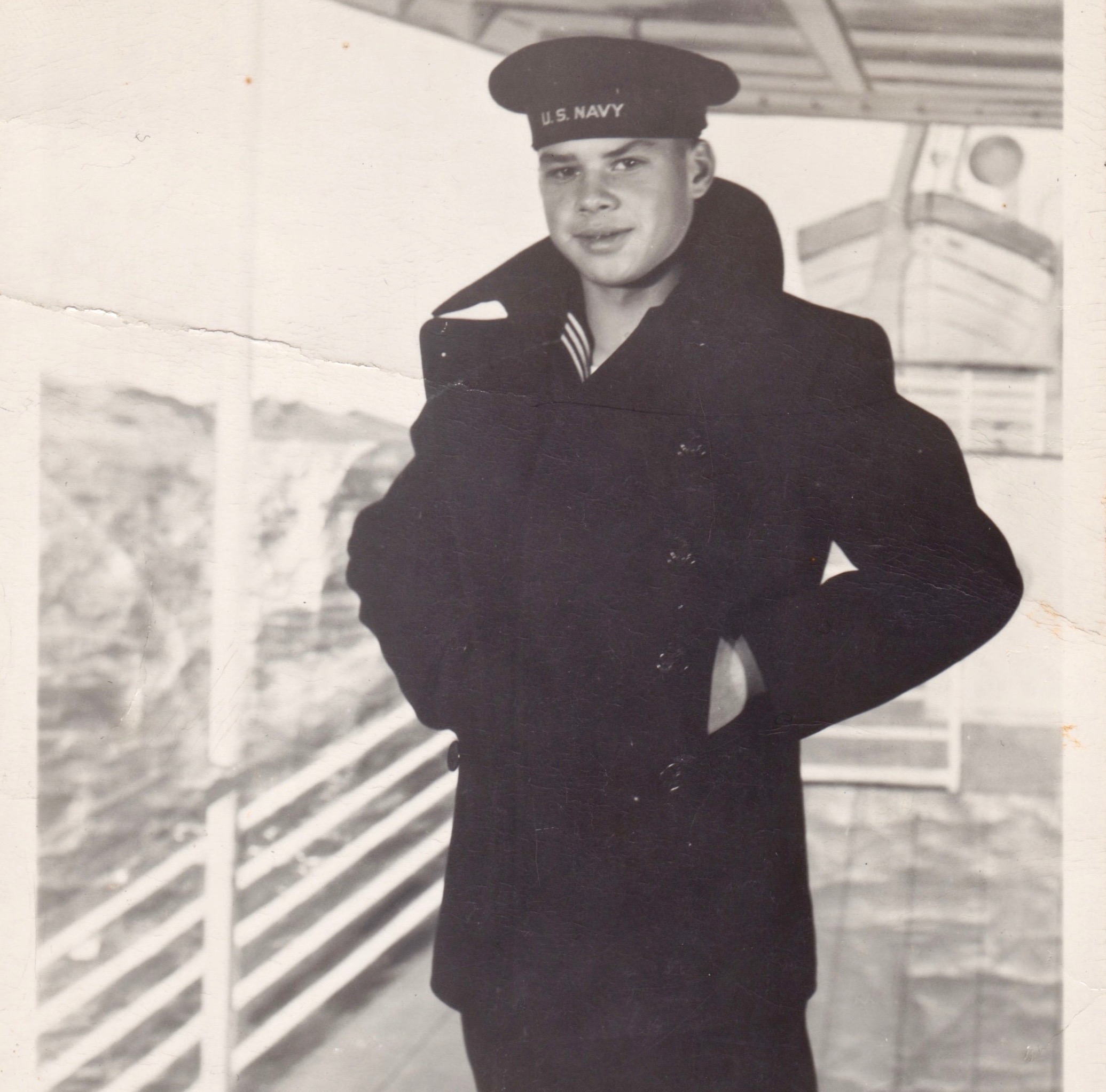 Lester in Navy Postcard - Front.jpg