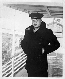 Lester in the Navy at 15