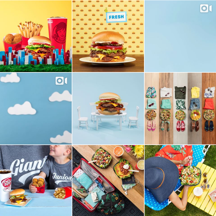 Wendy's Instagram Feed