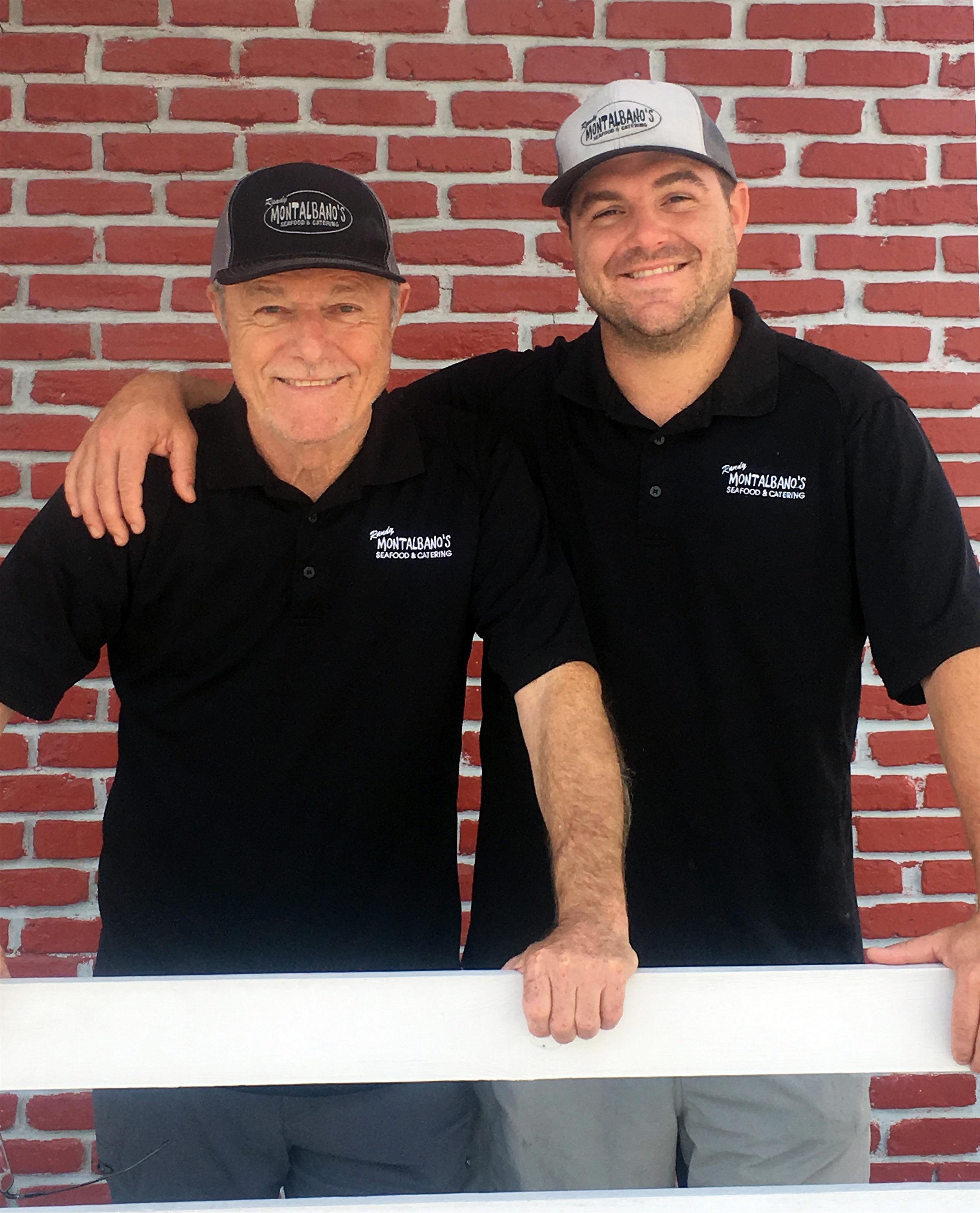 Randy Montalbano Sr. and Randy Montalbano Jr.