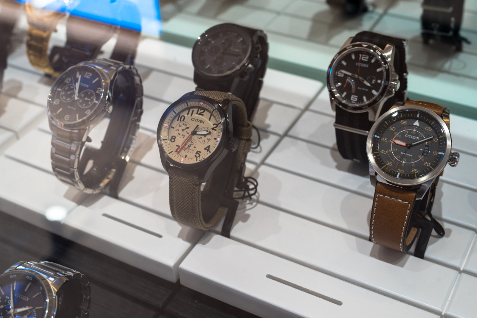 Watches - Indulgence offers a handpicked selection of the latest Citizen Eco-Drive watches. The technology behind the Eco-Drive line harnesses the power of light and converts it into energy which makes these savvy watches run! This one of a kind technology, the eco-friendly science and the value behind these Citizen watches are the reasons why Indulgence offers this line over others like it in-house.