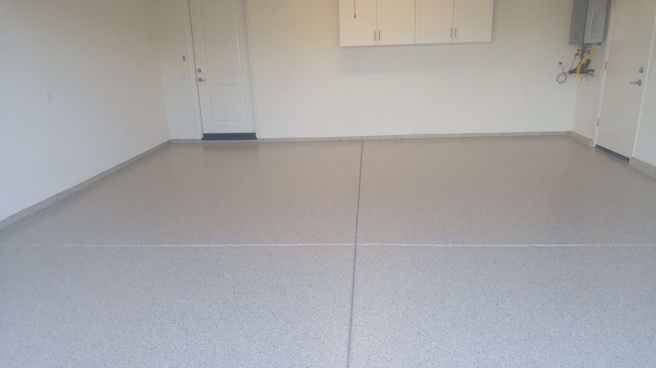 Woodland Home gets a New Epoxy Floor