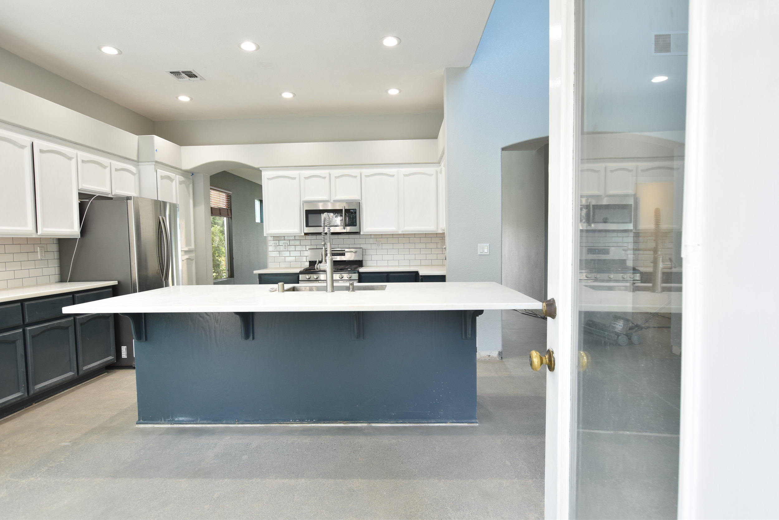 And Sealed Interior Concrete Floor