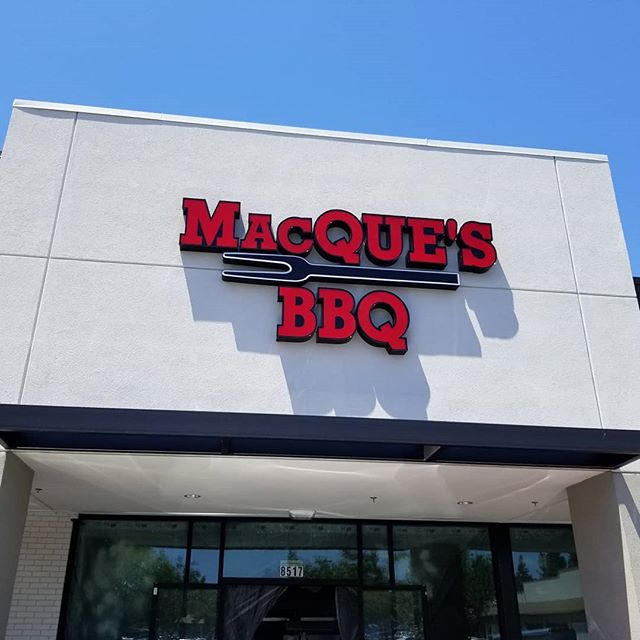 The start of another retail project! Our favorite type of project!  Mac Que's Barbeque is opening another location! This time in Elk Grove! In the next few years they have committed to opening two more locations and are using this store to develop their signature brand ascetic.  We will be spending the day prepping the substrate (our canvas) in order to deliver a very rustic, hearty, and natrual feeling floor! Stay tuned!