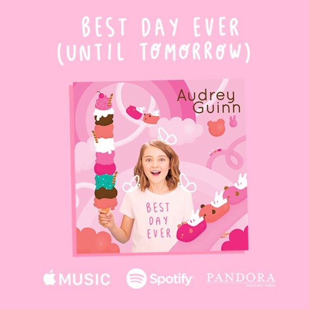 """Two great things happened today.⠀ I turned 11.⠀ And my album was released!!! 🎵🎤🙏⠀ ⠀ Stream """"Best Day Ever (Until Tomorrow) now on Spotify, Apple Music and all those other places!⠀ ⠀ #HappyBirthdayToME⠀ ⠀ ---⠀ ⠀ #newalbum #musician #pop #talentedkid #album #music #newmusic #album #artist #producer #production #singer #nickradio #studio #musicproducer #songwriter #rollingstone #newsong #song #dance #instamusic #pop #radiodisney #kidzbop #funkidsradio #musicproducer  #musicnews #bigkid #KIDJAM_Radio @Brat @littlerockersradio @radiodisney @nickradio @popjam @funkidsradio ⠀ @kidsplacelive  @funkidsradio @kidsplacelive @KIDJAM_Radio @iHeartRadio⠀ ⠀"""