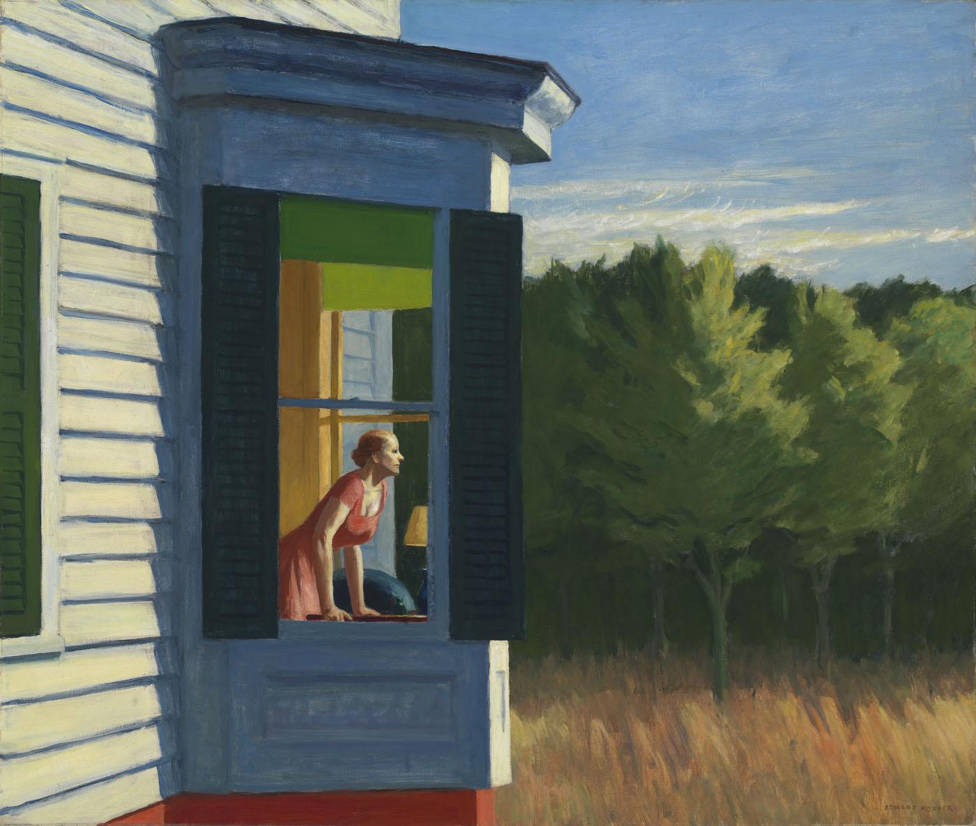 Edward Hopper, Cape Cod Morning , 1950