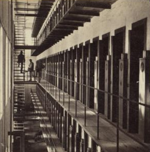 The Miriam and Ira D. Wallach Division of Art, Prints and Photographs: Photography Collection, The New York Public Library. Sing Sing Prison, interior view. Retrieved from http://digitalcollections.nypl.org/items/510d47e1-5e5d-a3d9-e040-e00a18064a99