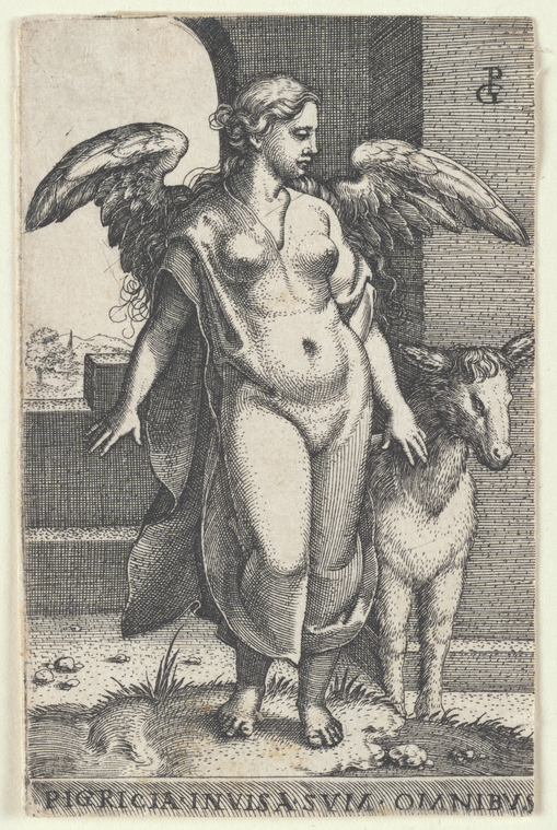 The Miriam and Ira D. Wallach Division of Art, Prints and Photographs: Print Collection, The New York Public Library. (1500 - 1550).  Pigritia [Sloth] Retrieved from http://digitalcollections.nypl.org/items/2c165dd0-504e-0135-07f2-1dfea719a238