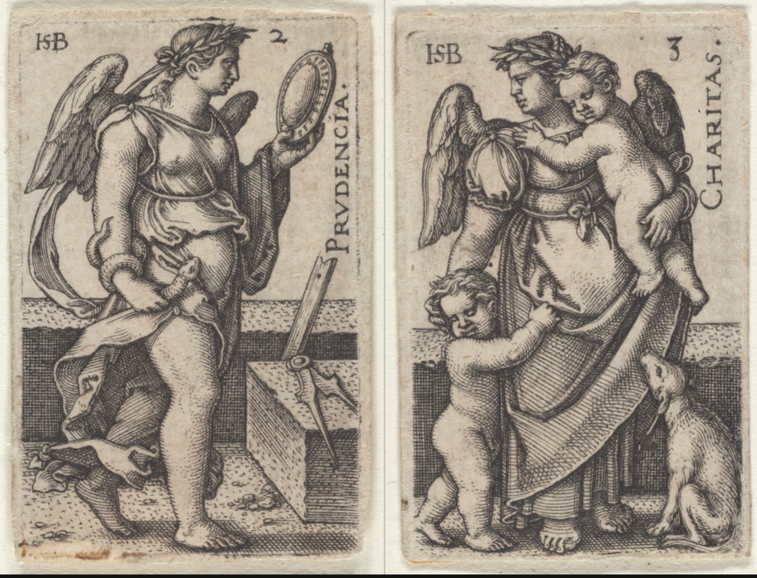 The Miriam and Ira D. Wallach Division of Art, Prints and Photographs: Print Collection, The New York Public Library. (1500 - 1550).  Prudence  Retrieved from http://digitalcollections.nypl.org/items/fdf53b40-63d4-0133-7314-00505686d14e