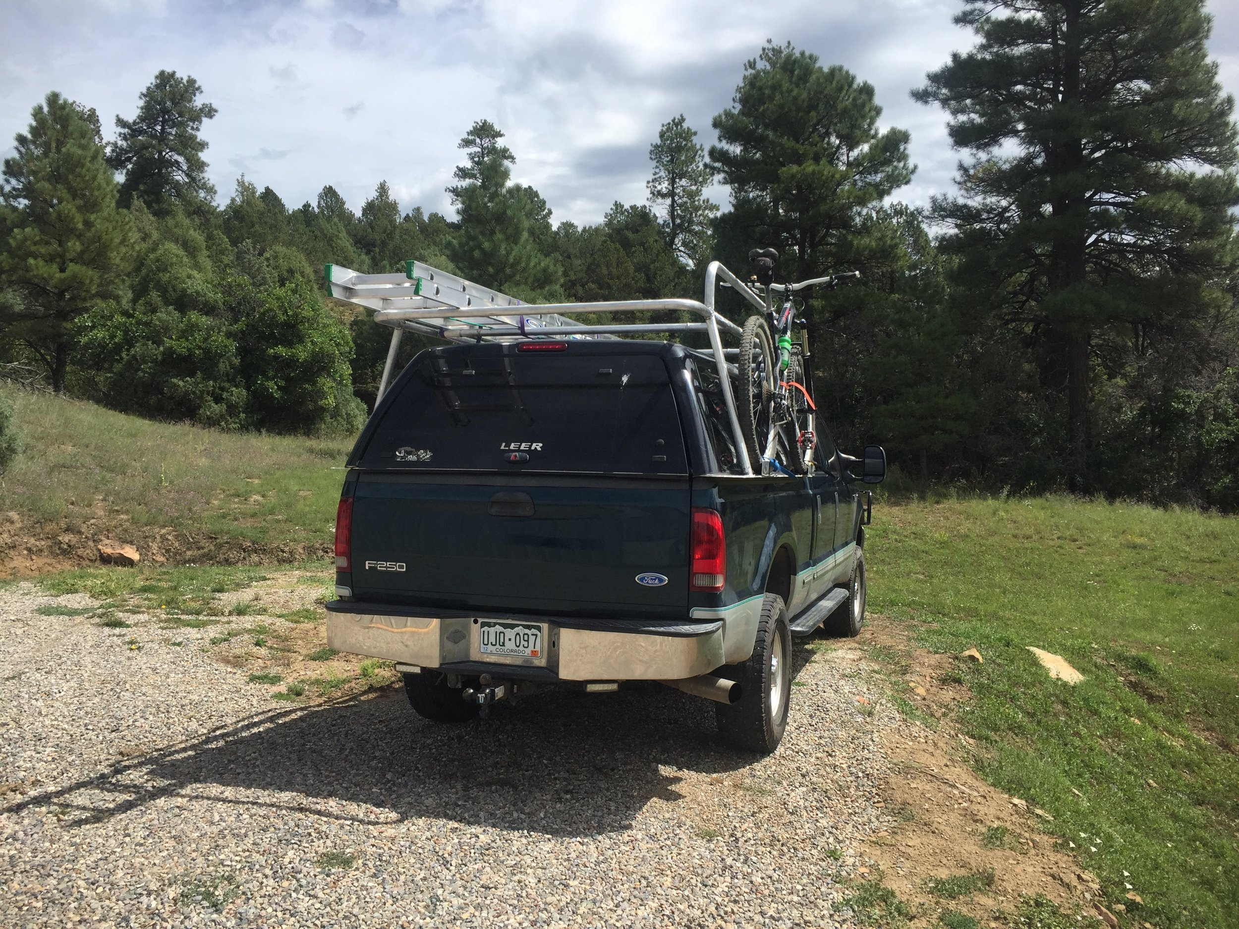 RACKS - Dial in your truck/van/bus for work and play. Whether its 4 sections of scaffolding or 2 bikes and 5 kayaks we have a rack design to meet your needs. Both steel and aluminum options available.