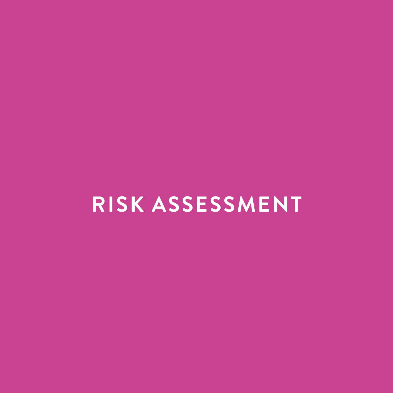 Risk management risk assessments