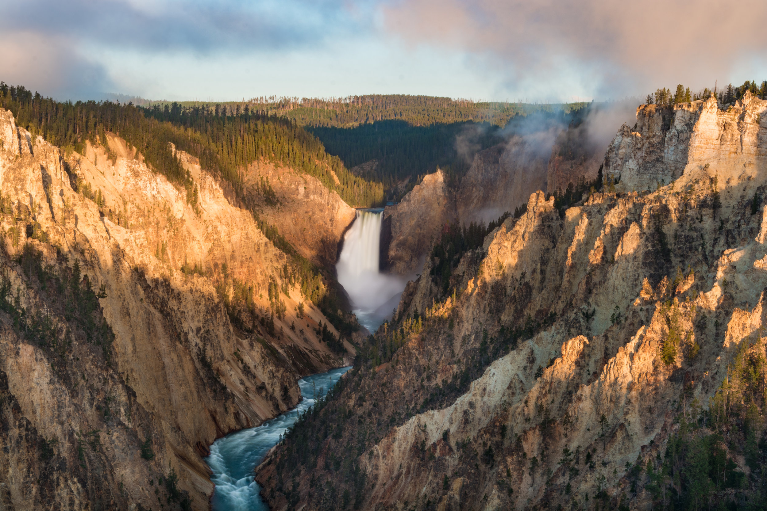 The iconic Yellowstone Falls!
