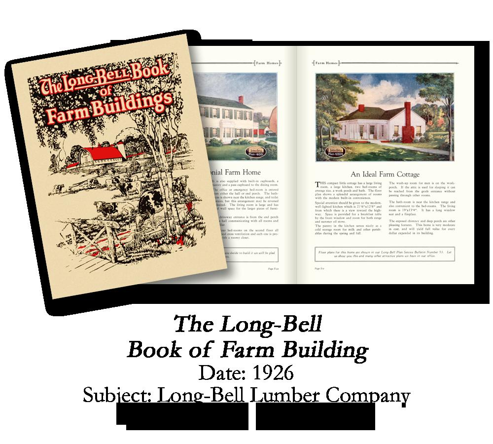 1926 Long-Bell Farm Buildings Catalog