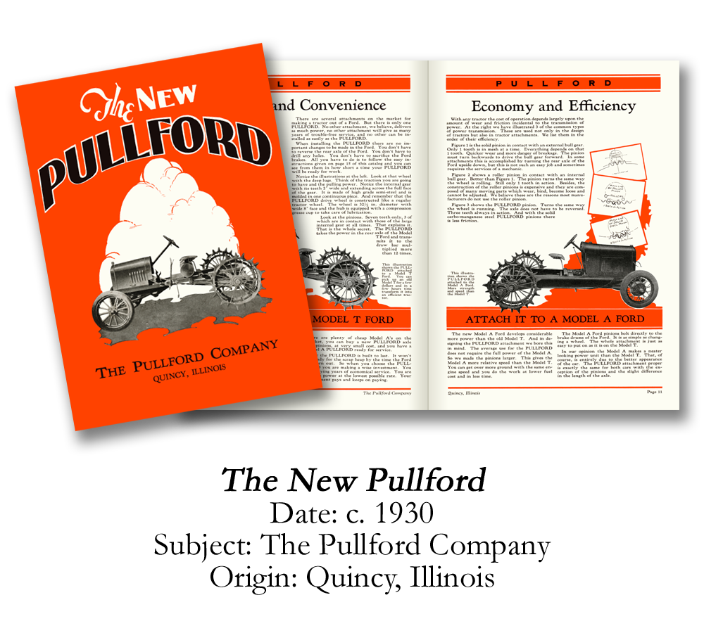 1930 Pullford Conversion Tractor Brochure