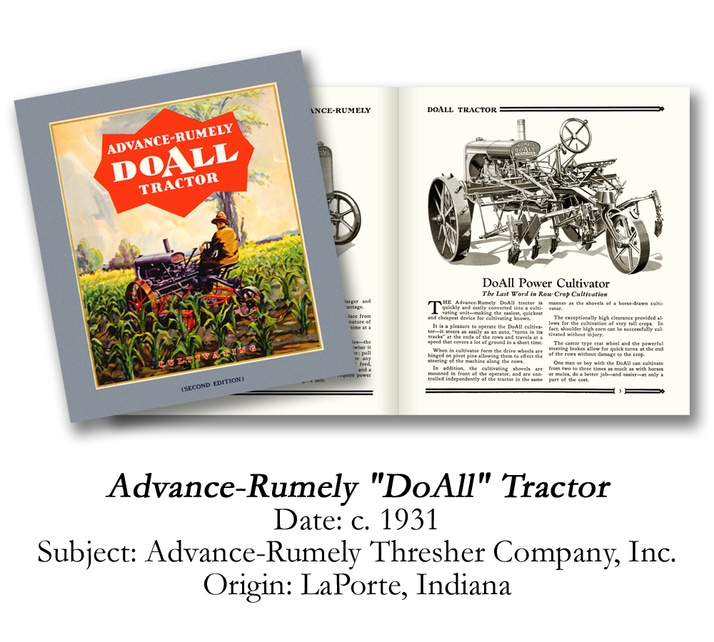 1931 Advance-Rumely DoAll Tractor Catalog
