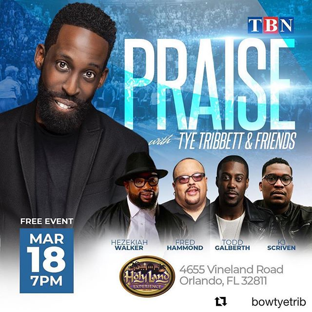 TOMORROW NIGHT- I have the privilege to sing for God behind these powerful men of God! Tune in tomorrow night @ 7pm on TBN!!! 🙌🏾