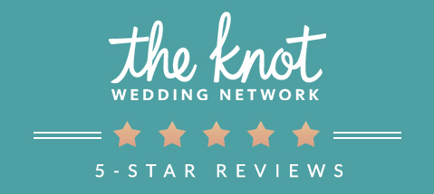 This image has the icon for The Knot Wedding Network and links to the Spring Hill Estate profile on their site where reviews and venue information can be found.