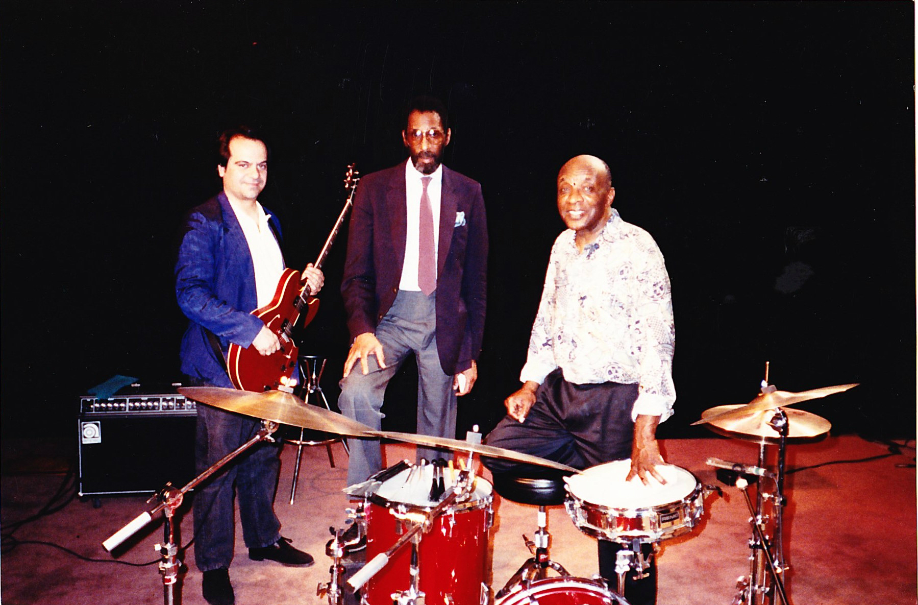 L to R; Tony Purrone, Ron Carter, Ed Thigpen
