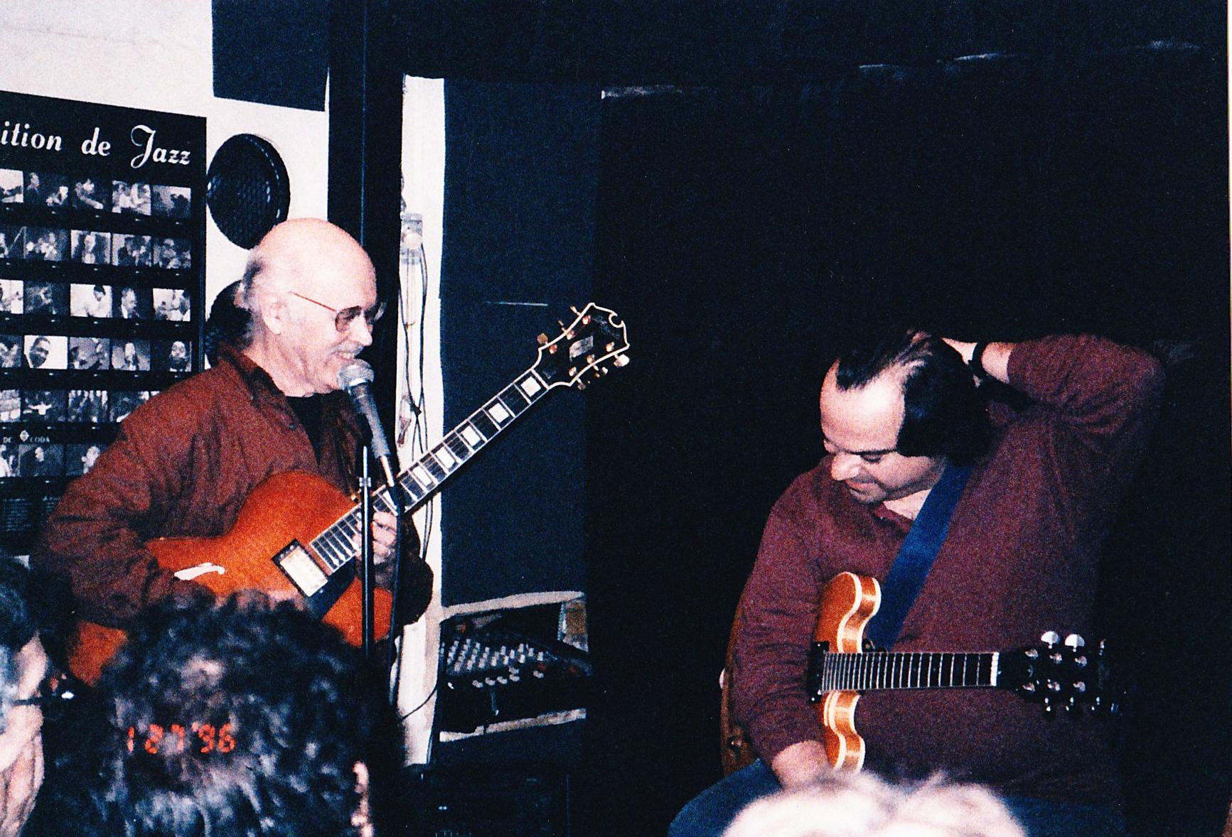 L to R; Jim Hall, Tony Purrone