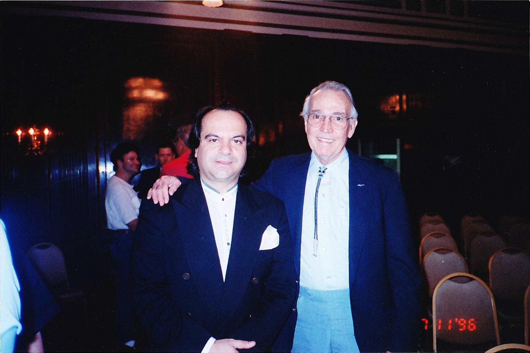 L to R; Tony Purrone, Johnny Smith