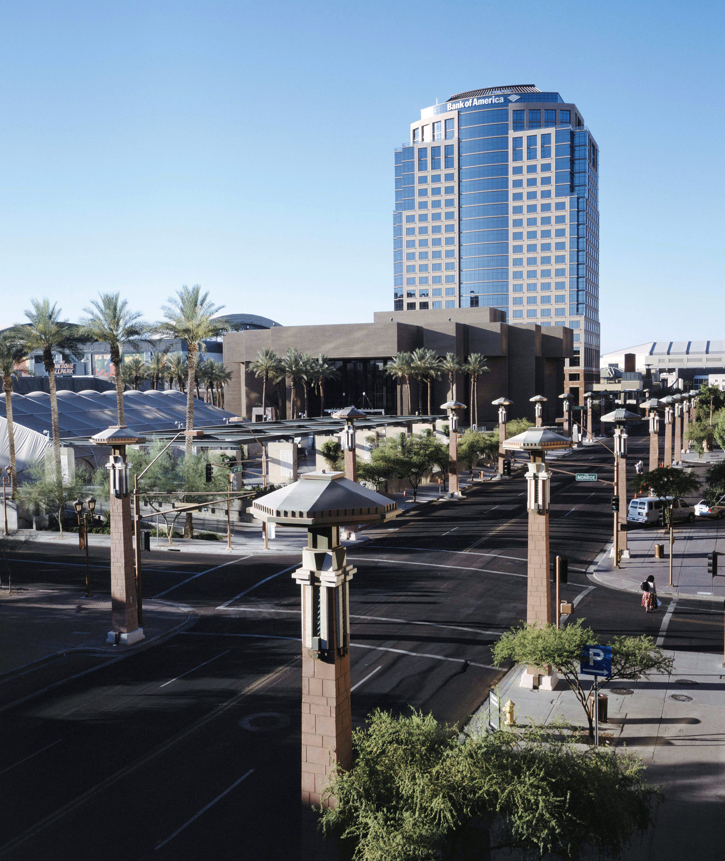 25TH ANNIVERSARY FACT: - February 1995 marked the completion of Achen-Gardner's Downtown Phoenix Streetscape Project. This Design-Bid-Build project for the City of Phoenix was constructed in preparation for the 1995 NBA All-Star Game on February 12th at America West Arena (now US Airways Center).