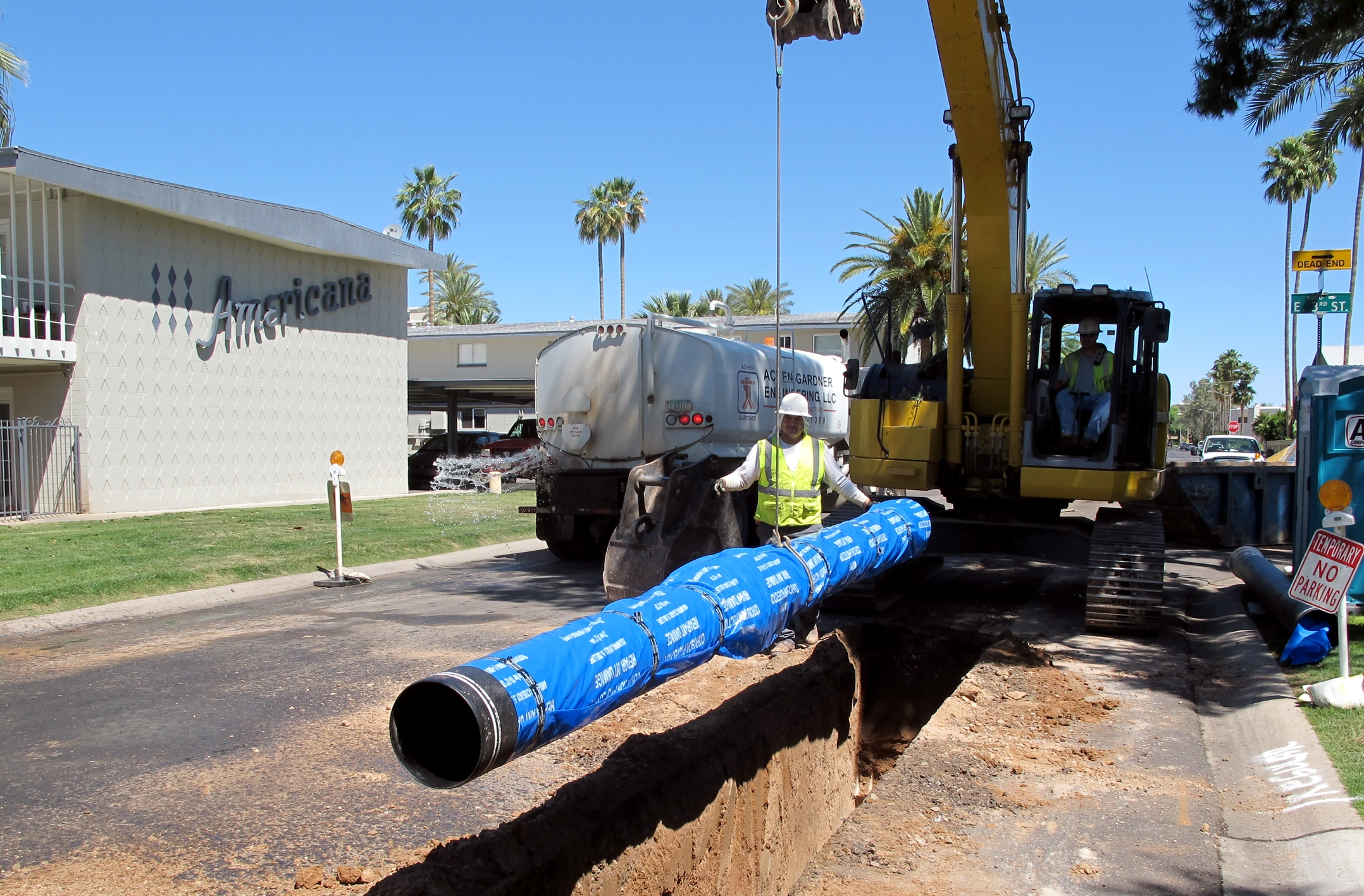 Downtown Water and Sewer Lines CMAR
