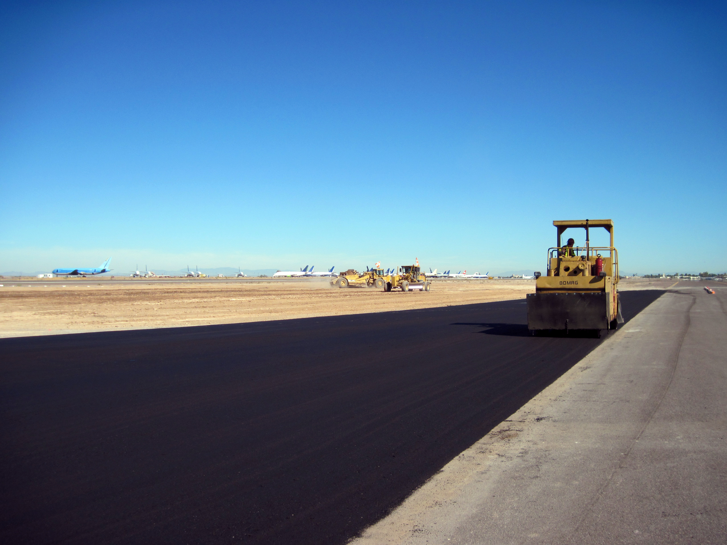 Taxiway A Intersections at Phoenix Goodyear Airport BD