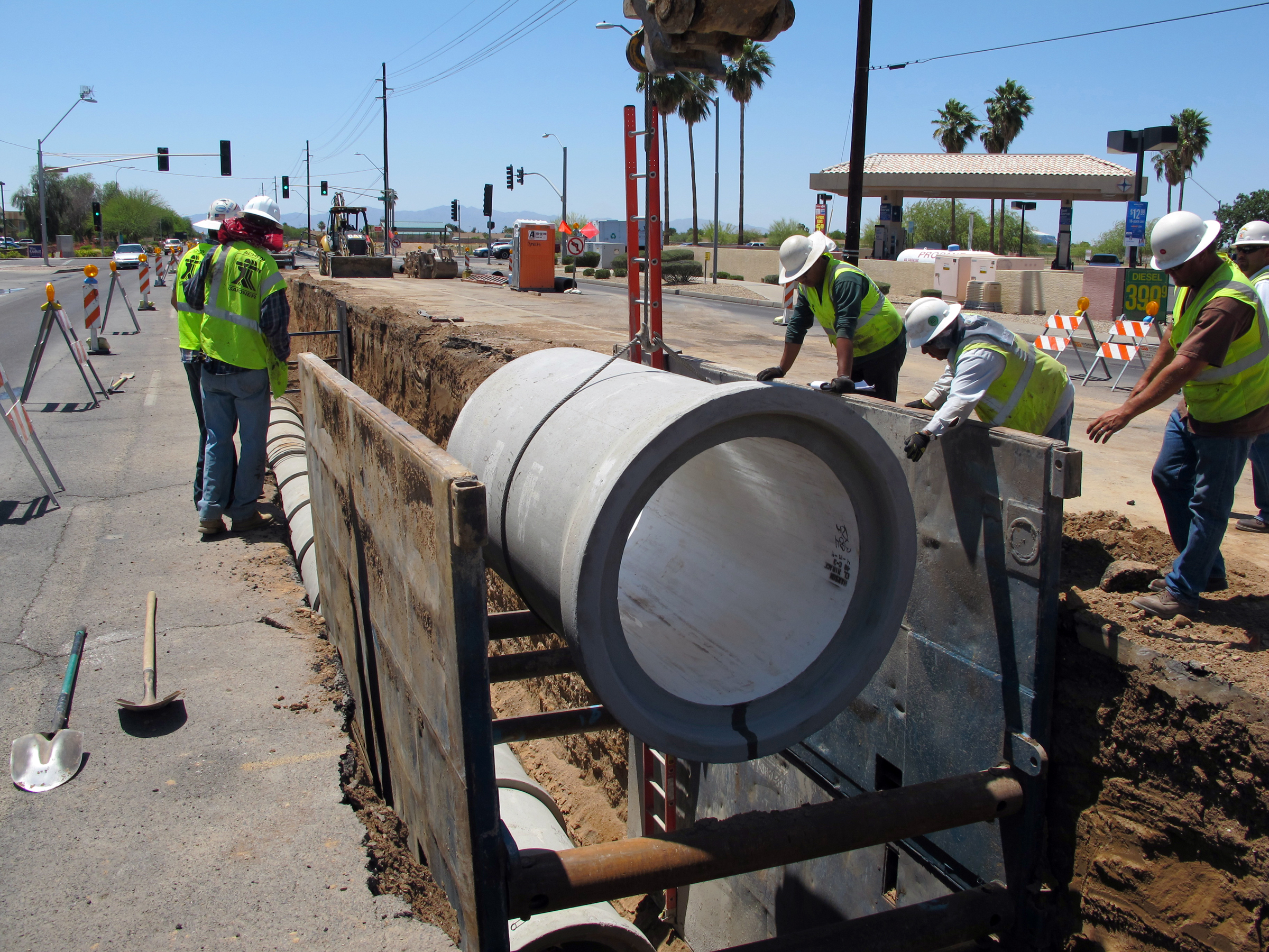 Sewer and Manhole Rehabilitation CMAR
