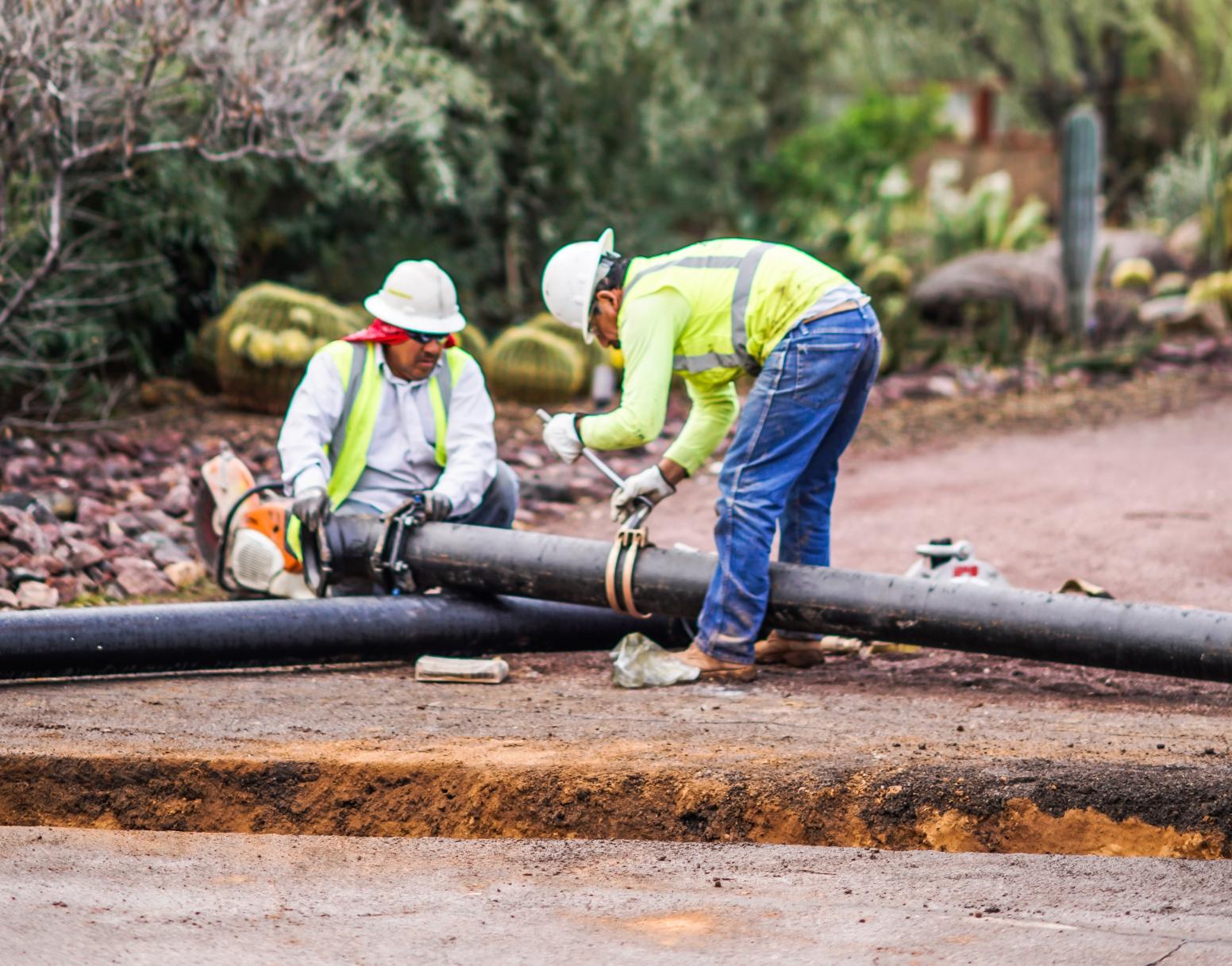 Hayden and Thunderbird Roads Waterline Replacements   CMAR